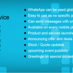 Whatsapps SMS Services India